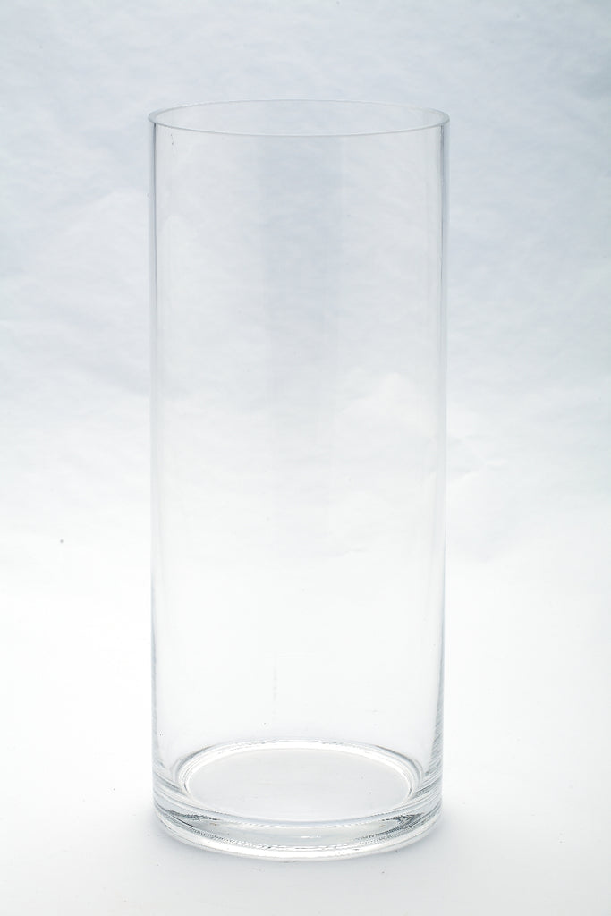 Large Glass Cylinder Container