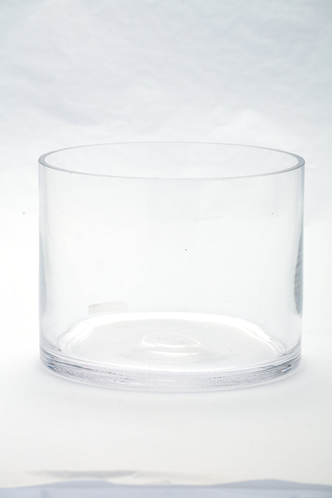 Small Glass Cylinder Container