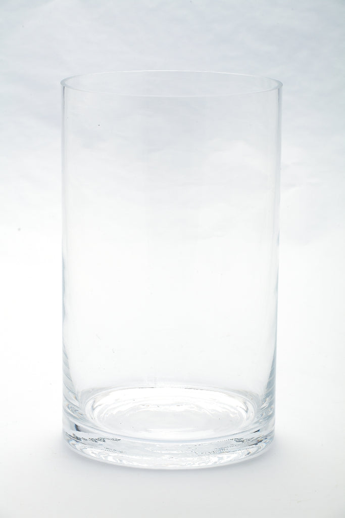 Medium Glass Cylinder Container