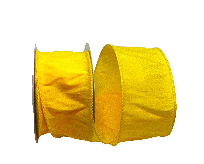 Yellow Dupioni Ribbon