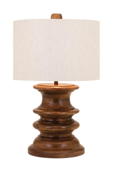 Patel Mango Wood Lamp