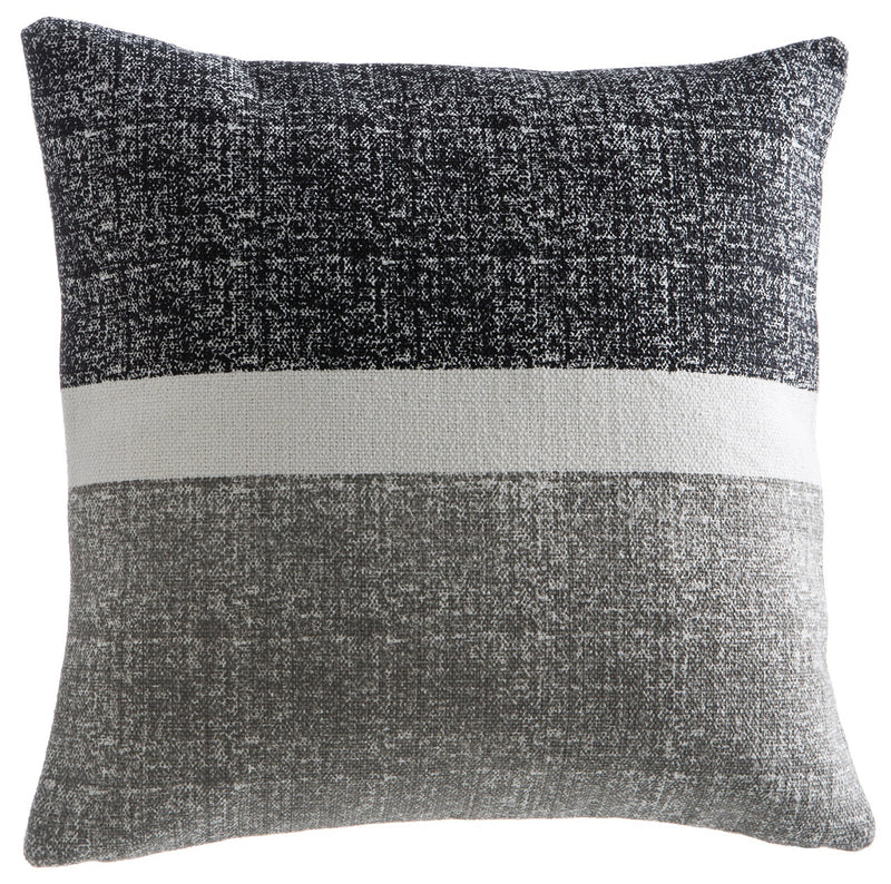 Black and Grey Cotton Pillow