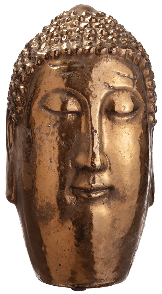 Small Bronze Buddha Head