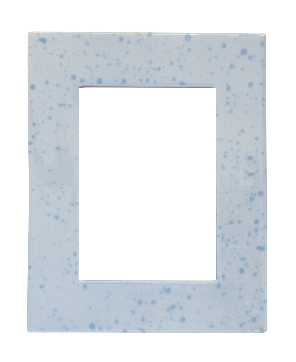 Blue Stone Glazed Picture Frame