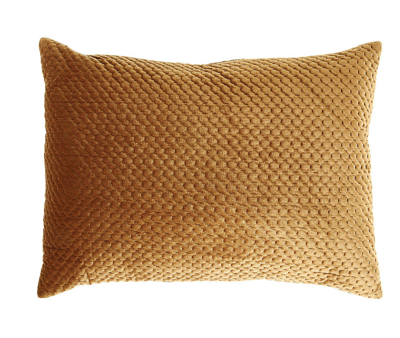 Golden Velvet Pillow