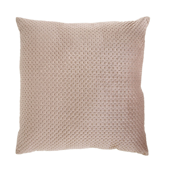 Sand Velvet Square Pillow