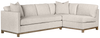 Clay Tweed Alabaster Sectional