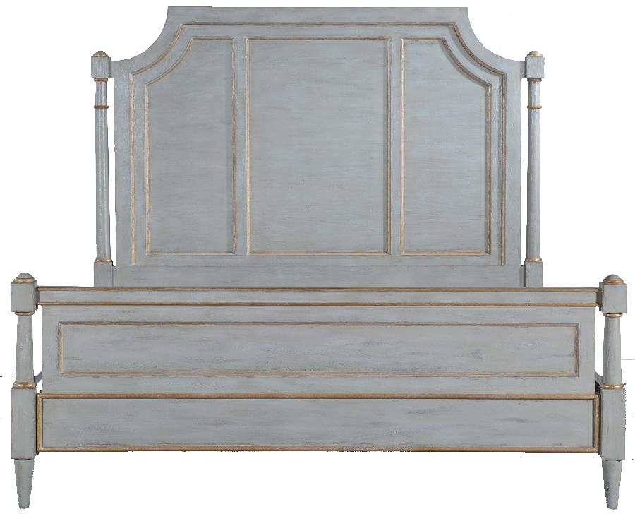 Selena Grande Upholstered King Bed Frame