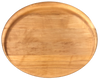 Oval Hard Rock Maple Cutting Board 17""