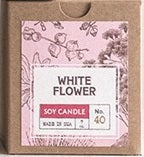 7oz White Flower Scented Candle