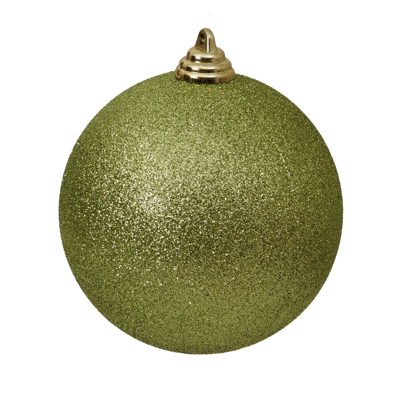 Lime Green Ornament 4in