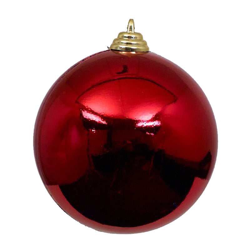 Shiny Red Ornament 8in – Paul Michael Company