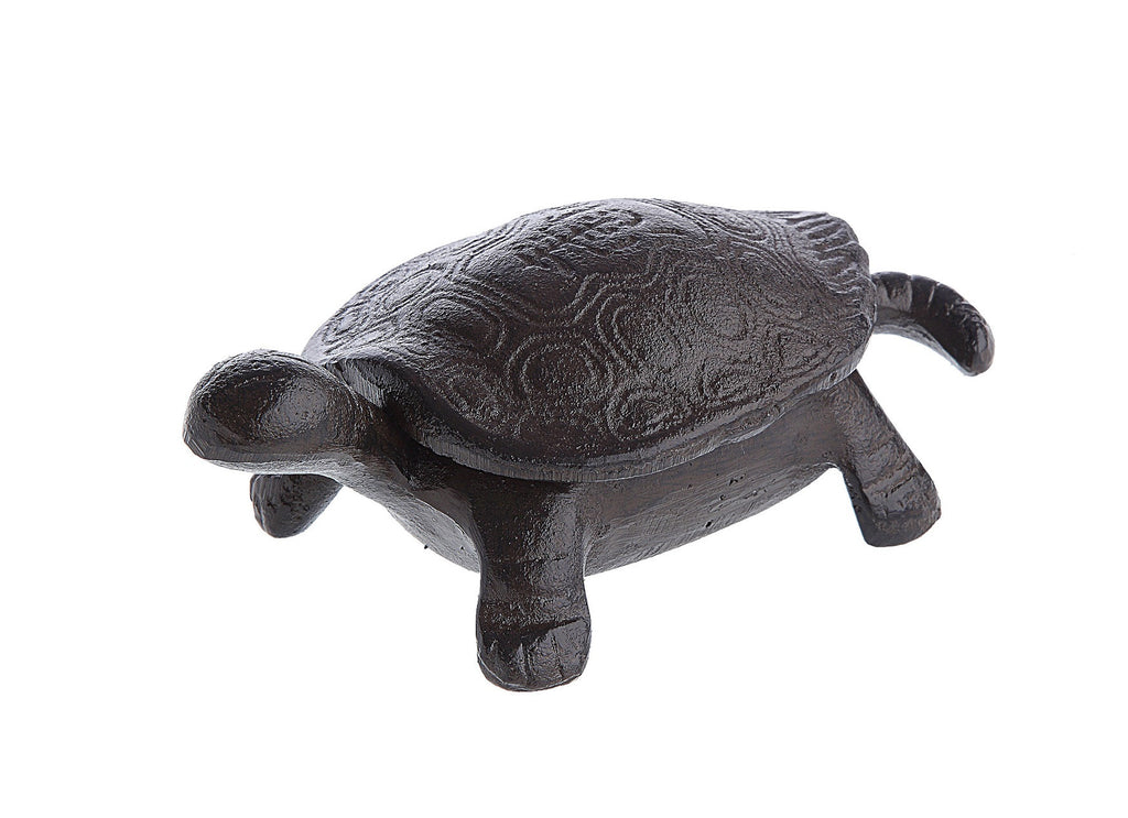 "Squirtle Iron Turtle  Key or Keepsake Holder 6.25"" - Paul Michael Company - 1"