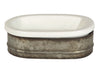 Metal Stoneware Soap Dish - Paul Michael Company - 2