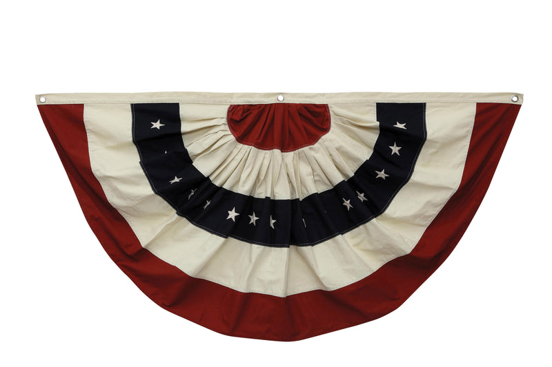 Cotton Fabric Americana Bunting