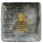 Bee Themed Stoneware Plates
