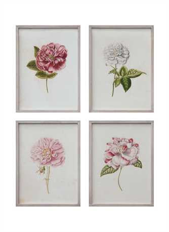Vintage Floral Wall Decor - Paul Michael Company