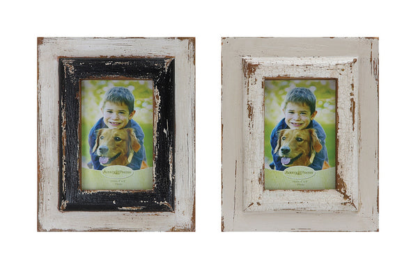 Distressed Picture Frame 4x6 - Paul Michael Company