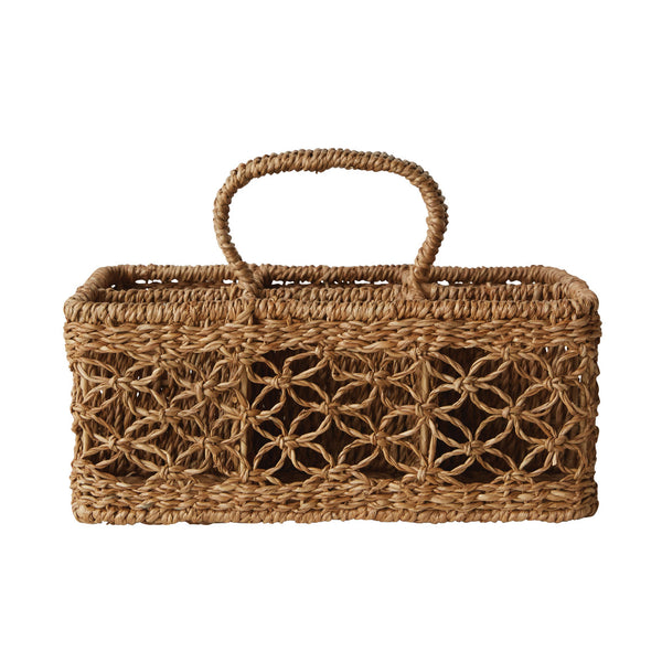 Woven Compartment Basket