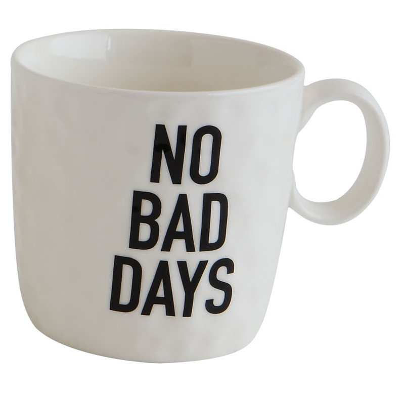 Stoneware Mug with Saying