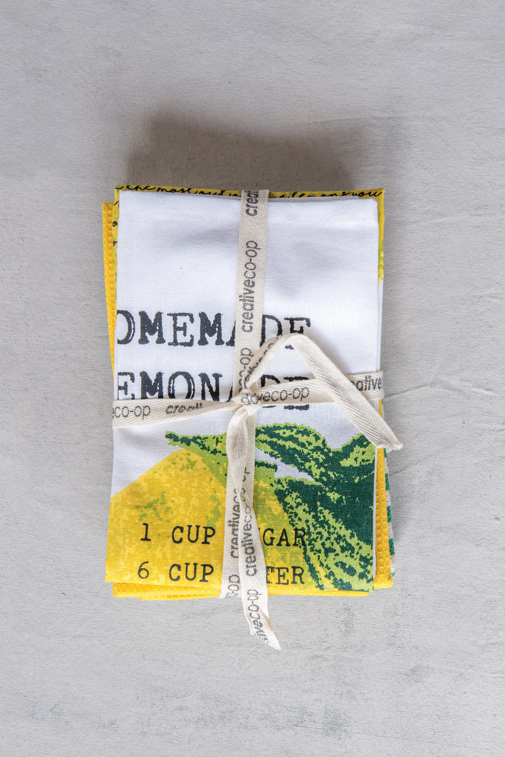 Lemon Tea Towel Set
