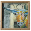 Southwest Framed Cow Art