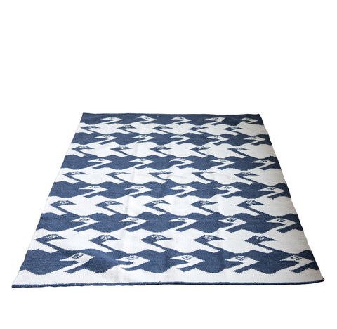 Tribal Blue Kilm Rug