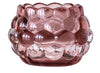 Embossed Glass Candleholder
