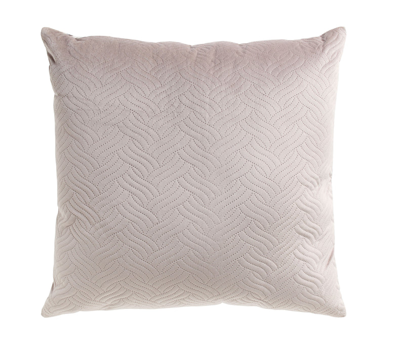 Soft Quilted Grey Pillow