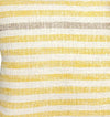 Cotton Woven Striped Throw Pillow