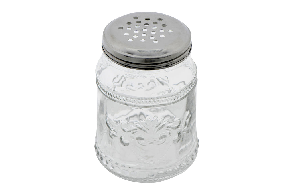 Pressed Glass Vintage Sugar Shaker