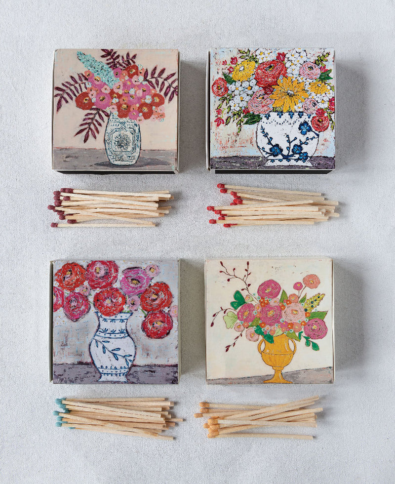 Floral Arrangement Matchboxes
