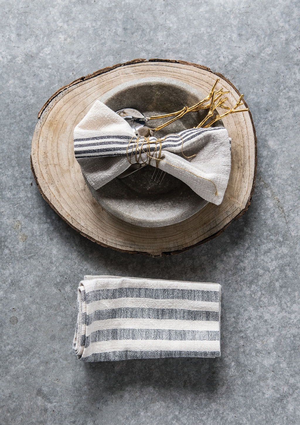 Cotton Striped Napkins