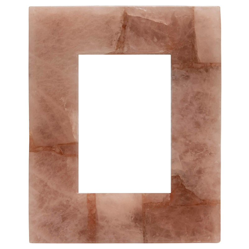 Small Pink Quartz Photo Frame