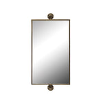 Metal Pivot Wall Mirror