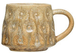 Debossed Glazed Mug
