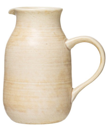 Stoneware Glazed Pitchers