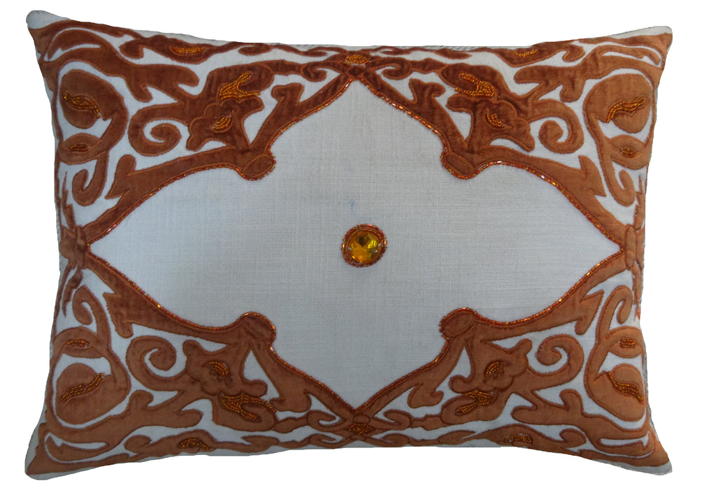 Chelsea Terracotta Lumbar Pillow