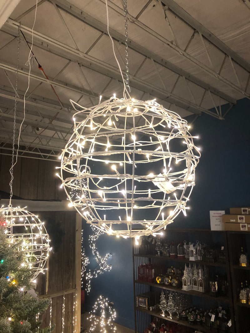 LED Hanging Spheres