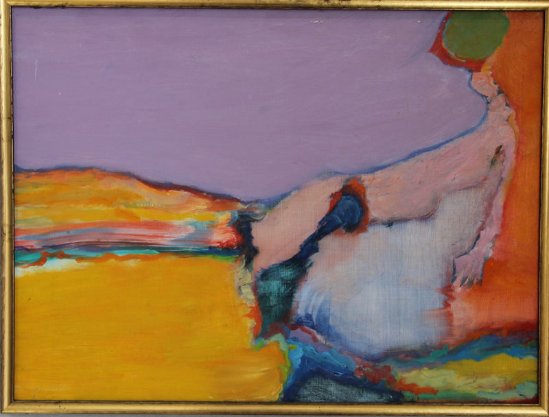 Martin Sumers - Oil Painting - Woman Laying Around