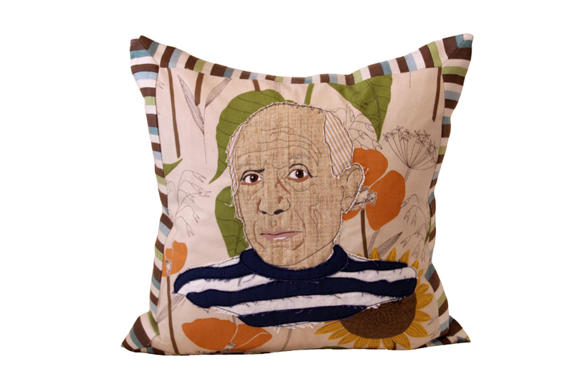 Celebrity Down Throw Pillows - Picasso