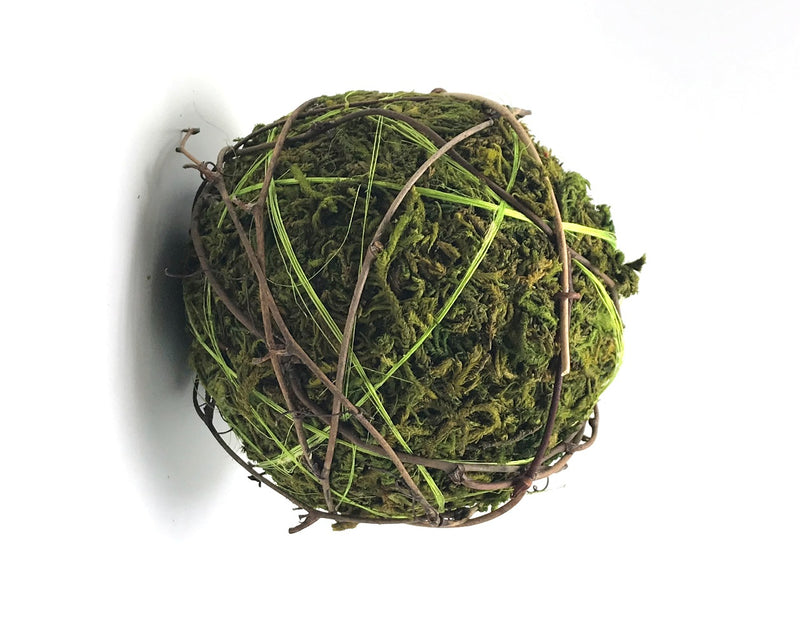 Moss Green Decorative Ball