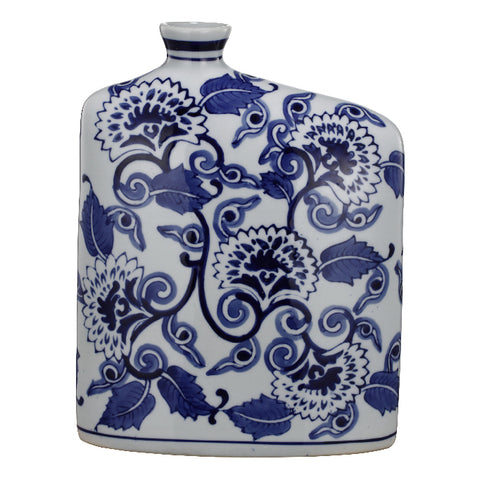 Blue and White Kingdom Vase