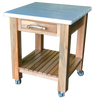 Sycamore Marble Top Kitchen Island