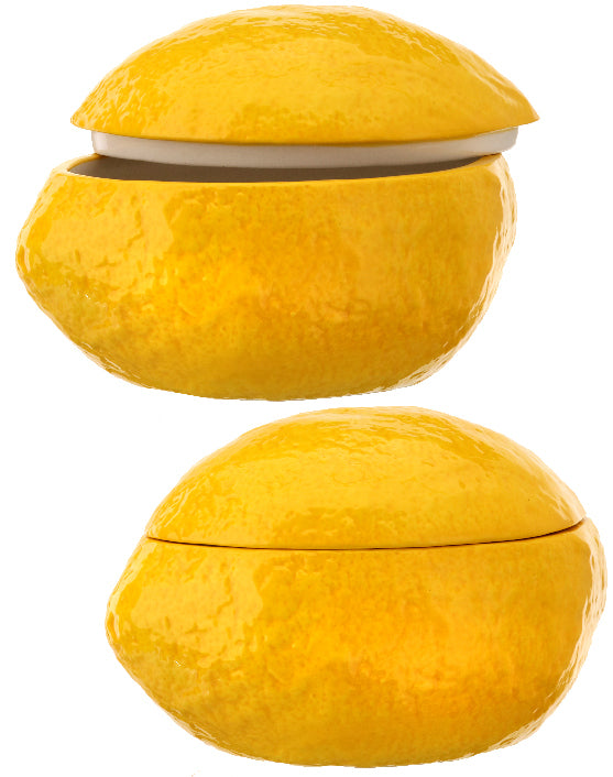 Lemon Shaped Container