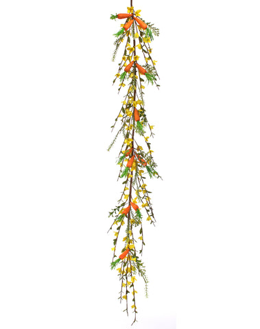 Forsythia Carrot Garland