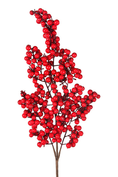 Red Berry Cluster Spray