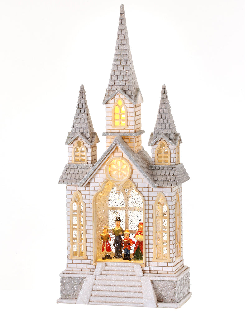White Church Waterglobe
