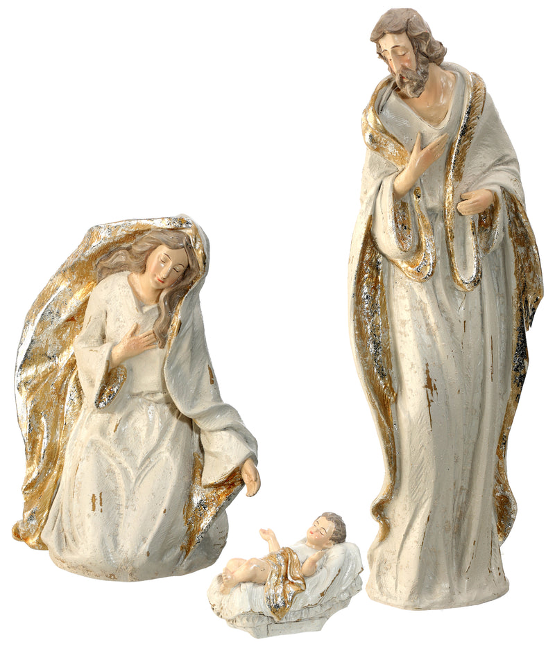 Champagne and Cream Nativity Six Piece Set