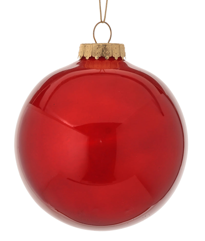 "Copy of 6"" Red Ball Ornament"